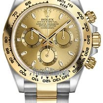 Rolex Cosmograph Daytona Steel and Gold 116503 Champagne Index...