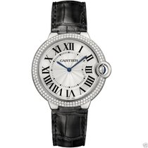 Cartier Ballon Bleu 40mm we902056 18kt White Gold Diamond...