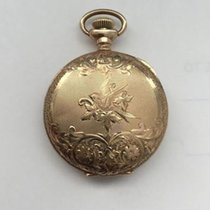 Waltham 1907 American Waltham Solid 14K Gold Pocket Watch