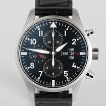 """IWC Pilot's Chronograph 43mm """"Box & Papers"""""""