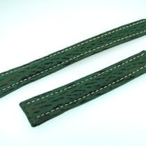 百年靈 (Breitling) Band 18mm Hai Grün Green Shark Strap Correa...