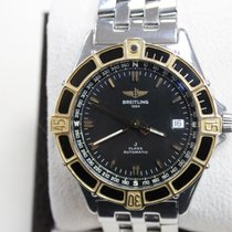 Breitling J Class D10067 18K Yellow Gold & Stainless Steel