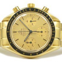 Omega Speedmaster 18k Yellow Gold Chronograph 39mm Ref...