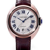 Cartier WGCL0004 Cle de Cartier in Rose Gold - on Brown...