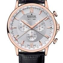 Edox .. Les Bémonts Chronograph NEW FULL SET