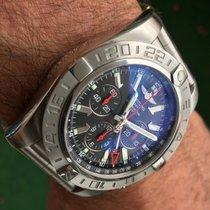 브라이틀링 (Breitling) Breitling Chronomat Chronograph GMT 47 Black...