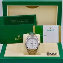 Rolex Unworn Datejust II 116300 White Index Dial