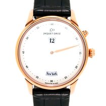 Jaquet-Droz Astrale Twelve Cities Jump Hour 18K Rose Gold...