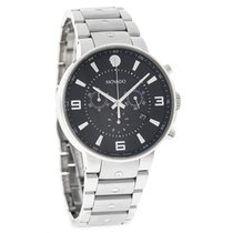Movado S.E. Pilot Series Mens Swiss Chronograph Quartz Watch...