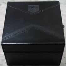 TAG Heuer rare vintage maxi box black leather two watches limited