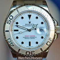 Rolex Yachtmaster Yellow Gold White Dial 40mm, Ref 16628-850