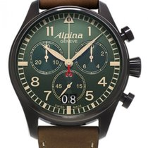 Alpina Startimer Pilot Chronograph Big Date Military