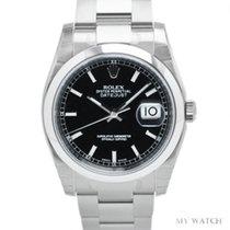 ロレックス (Rolex) Rolex Datejust black dial 116200 (NEW)
