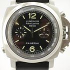 Panerai 1950 Flyback Rattrapante Chronograph Stahl PAM213 mit...