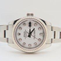 Rolex Datejust 26mm White Gold Bezel Factory Diamond Dial