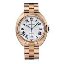 Cartier Cle De Cartier Automatic 40mm 18kt Rose Gold WGCL0002