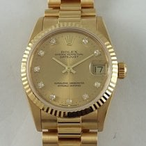 Rolex DateJust yelow gold 31mm