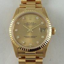 Rolex DateJust yelow gold 31mm