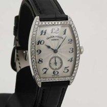 Franck Muller Cintree Curvex - White Gold - factory Diamonds...