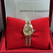 Rolex Ladies President Datejust 6917 Diamond Dial 18K Yellow Gold