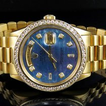 Rolex 18K Mens Yellow Gold Rolex President Day-Date 36MM...