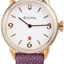 Bulova Ladies 78-diamond Stingray Strap 32 Mm Quartz Watch,...