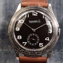 Eberhard & Co. Vintage 1930`s Step-case Steel 37mm Watch