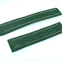 Breitling Band 20mm Green Shark Strap Correa Ib20-13