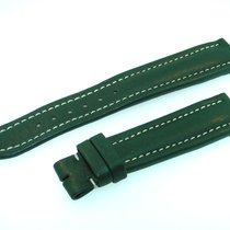 Breitling Band 18mm Kalb Grün Green Verde Calf Strap Für...