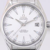 Omega Seamaster Aqua Terra 150M Date silver dial 41,5 mm Cal....