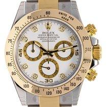롤렉스 (Rolex) Rolex Cosmograph Daytona Bimetal White/Diamond...