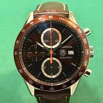 豪雅  (TAG Heuer) CV2013 Carrera Chronograph SS Brown Dial with...