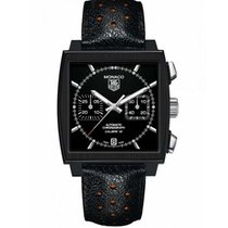 TAG Heuer Monaco Chronograph ACM Black CAW211M Fullset