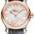 Chopard Happy Sport 18K Rose Gold Diamond Automatic Watch...