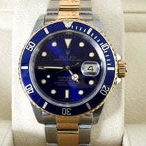 Rolex Oyster Submariner Gold Steel Blue Dial 40 mm (1994)