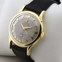 Omega CONSTELLATION PIE PAN 18K GOLD AUTOMATIK PAPIERE v.1959
