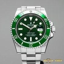 Rolex Submariner  116610LV Green Dial Ceramik Bezel Box&Pa...