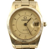 Omega 18K Yellow Gold Vintage | Gold Dial | 1993 | 26mm