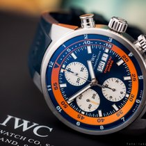 IWC Aquatimer Limited to 2500 Cousteau Diver Blue/Orange Dial