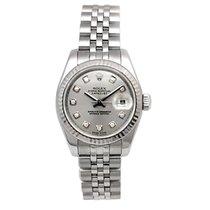 롤렉스 (Rolex) 26mm Lady Datejust steel #179174 w/Warranty Card