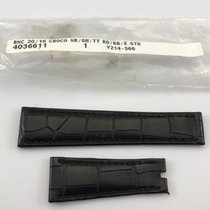 Rolex Replacement Strap Black Alligator Leather 20mm/16mm