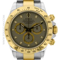 Rolex stainless steel and 18k yellow gold Daytona