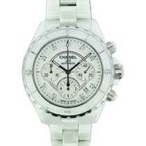 Chanel J12 Chronographe index diamants.