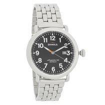 Shinola The Runwell Mens Argonite-705 Detroit Quartz Watch...