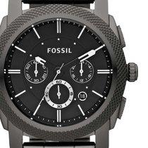 Fossil FS4662 Machine Herren Chronograph 45mm 5ATM