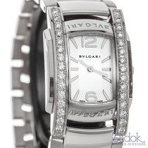 Bulgari Assioma 18k White Gold Quartz Diamonds Ladies Watch 31mm