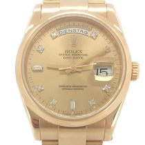 Rolex Day-Date Roségold Diamonds 36mm LC100 Box/Papers 2007