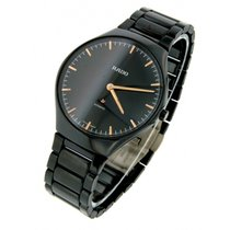 Rado True Thinline Automatic Full Dark Ceramic Rose Hands 40mm