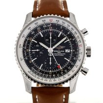 Breitling Navitimer World 46 Leather Chronograph