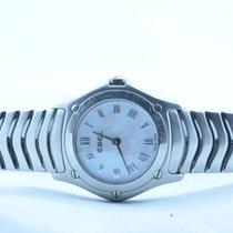 Ebel 1911 Damen Uhr Stahl/stahl 25mm Classic Wave Top Zustand...